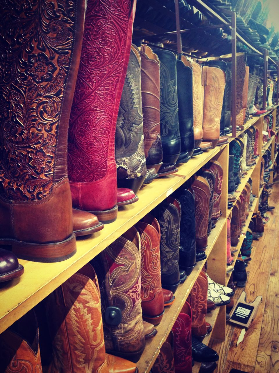 boots in Austin